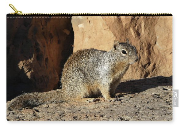 Posing Squirrel Carry-all Pouch
