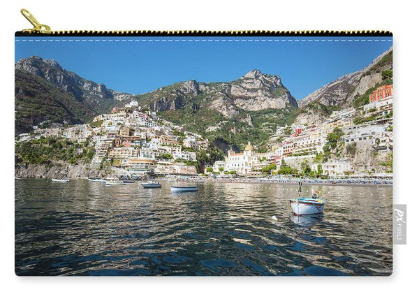 Positano From The Bay Carry-all Pouch