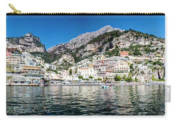 Positano From The Sea - Panorama I Carry-all Pouch