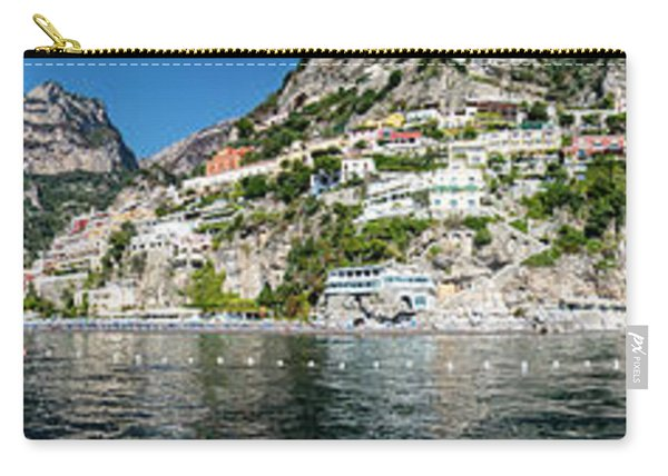 Positano From The Sea - Panorama II Carry-all Pouch