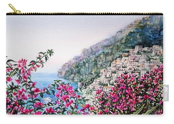 Positano Italy Carry-all Pouch