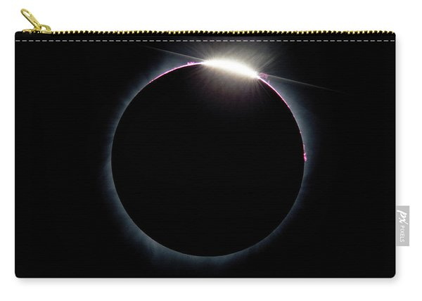 Post Diamond Ring Effect Carry-all Pouch