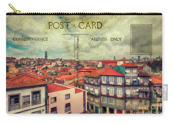 postcard of Porto Carry-all Pouch