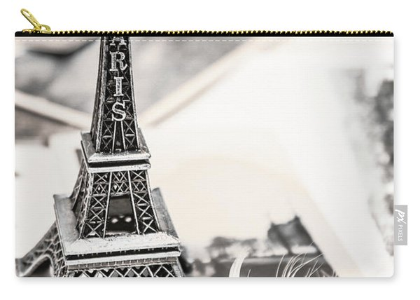 Postcards And Letters From Paris Carry-all Pouch