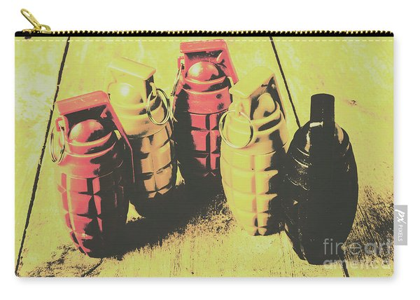 Posterized Granade Art Carry-all Pouch