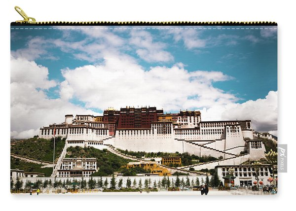 Potala Palace Dalai Lama Home Place In Tibet Kailash Yantra.lv 2016  Carry-all Pouch