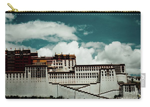 Potala Palace, Fragment. Lhasa, Tibet. Yantra.lv Carry-all Pouch