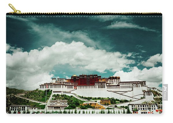 Potala Palace. Lhasa, Tibet. Dalai Lama. Yantra.lv Carry-all Pouch