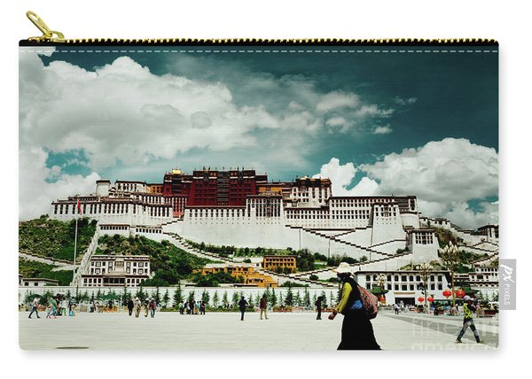 Potala Palace. Lhasa, Tibet. Yantra.lv Carry-all Pouch