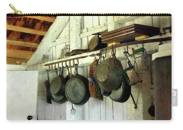 Pots In Kitchen Carry-all Pouch
