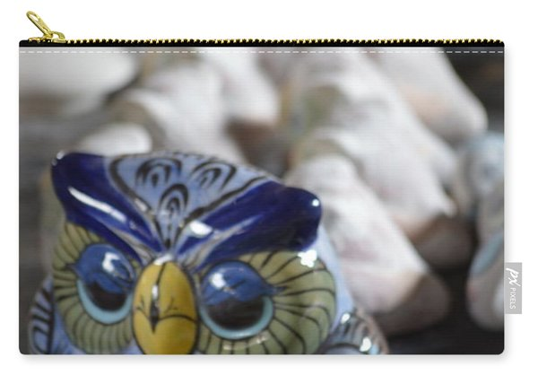 Pottery Bird Carry-all Pouch