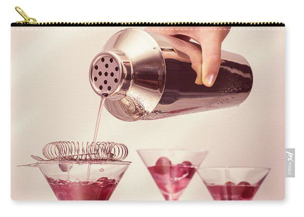 Pouring Cocktails Carry-all Pouch