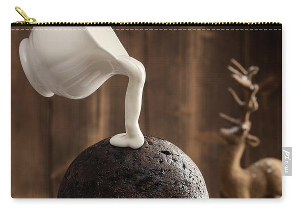 Pouring Cream Over Christmas Pudding Carry-all Pouch