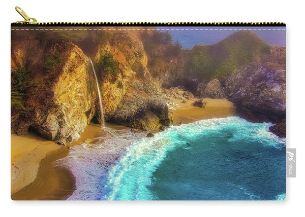 Pouring Into The Sea Carry-all Pouch