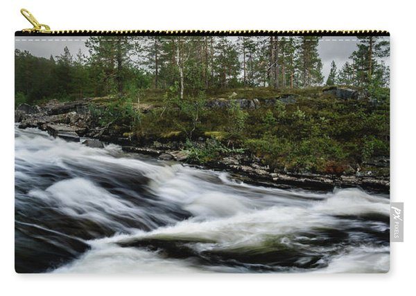 Carry-all Pouch featuring the photograph Power by Dmytro Korol