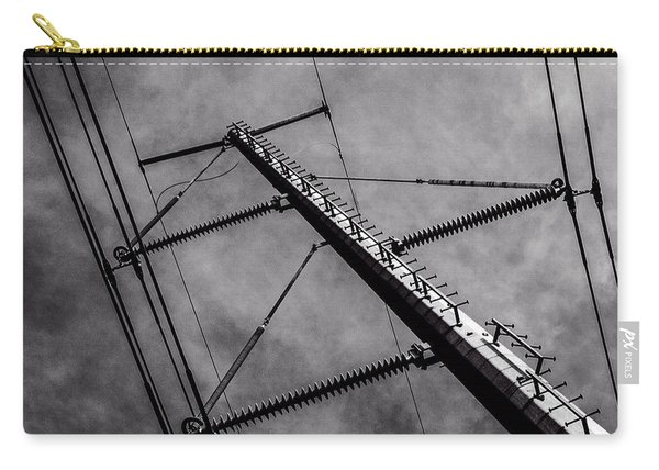 Power Line Sky Carry-all Pouch