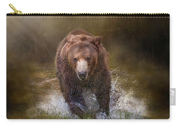 Power Of The Grizzly Carry-all Pouch