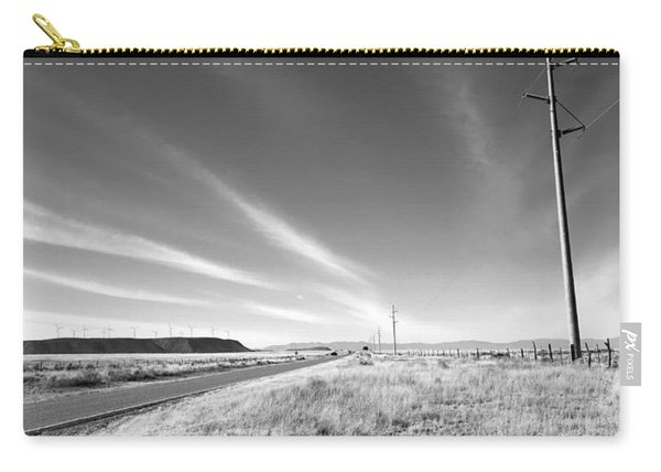 Power Poles To Windmills Carry-all Pouch