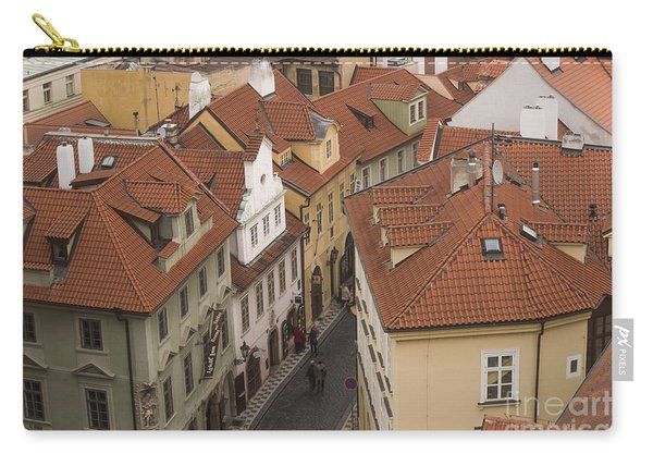 Prague Rooftops Carry-all Pouch