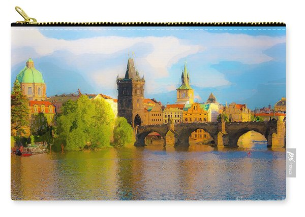 Praha - Prague - Illusions Carry-all Pouch