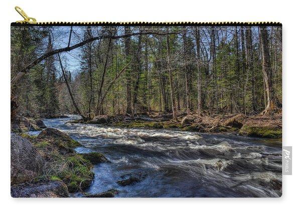 Prairie River White Riffles Carry-all Pouch
