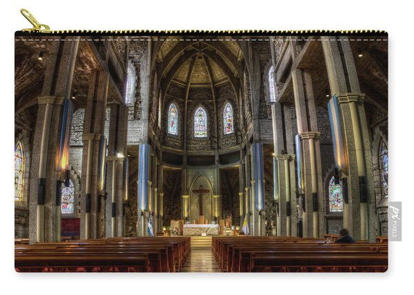 Our Lady Of Nahuel Huapi Cathedral In The Argentine Patagonia Carry-all Pouch
