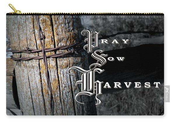 Pray Sow Harvest Carry-all Pouch