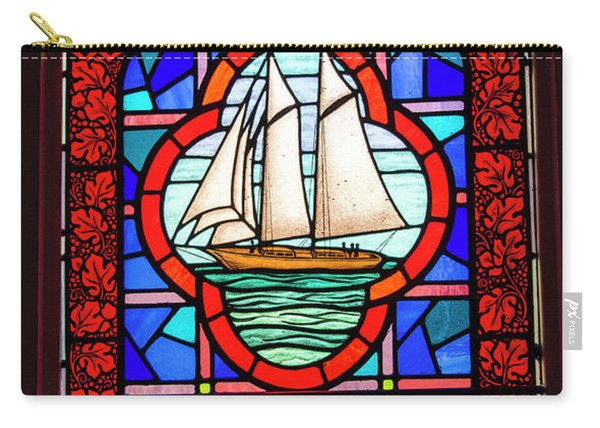 Prayer At Sea Carry-all Pouch