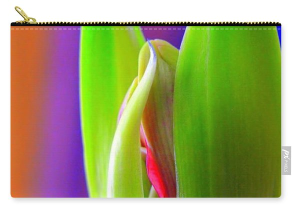 Praying Leaves Carry-all Pouch