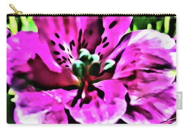 Precious Hibiscus Carry-all Pouch