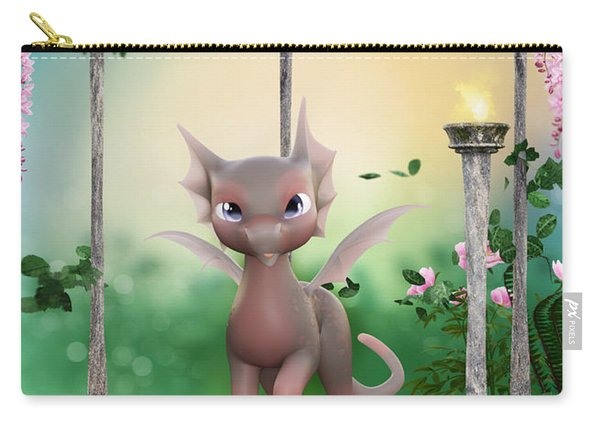 Precious In Pink Carry-all Pouch
