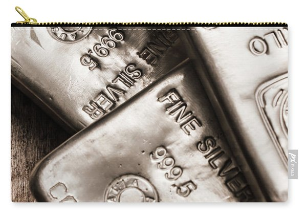 Precious Metal Art Carry-all Pouch