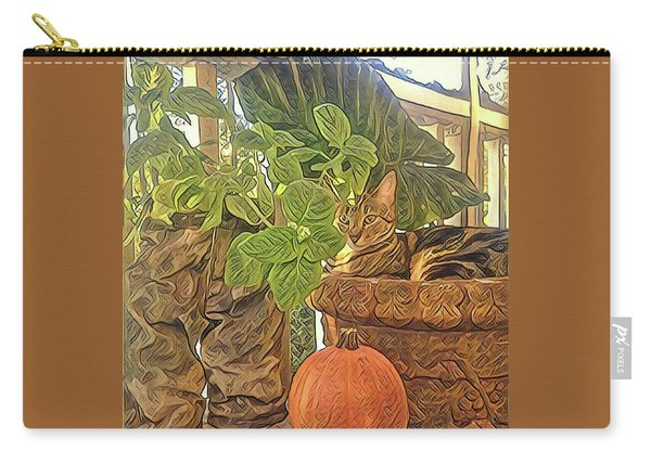 Precious Pumpkin Carry-all Pouch
