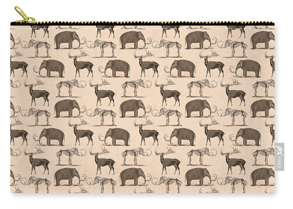 Prehistoric Animals Carry-all Pouch