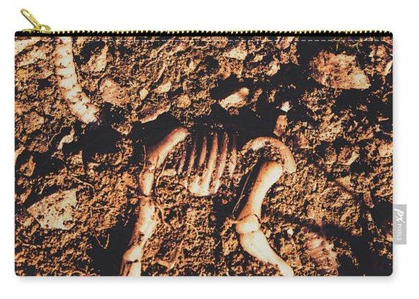 Prehistoric Diplodocus Bones Carry-all Pouch