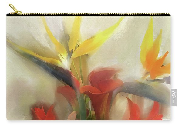 Carry-all Pouch featuring the digital art Prelude To Autumn by Gina Harrison
