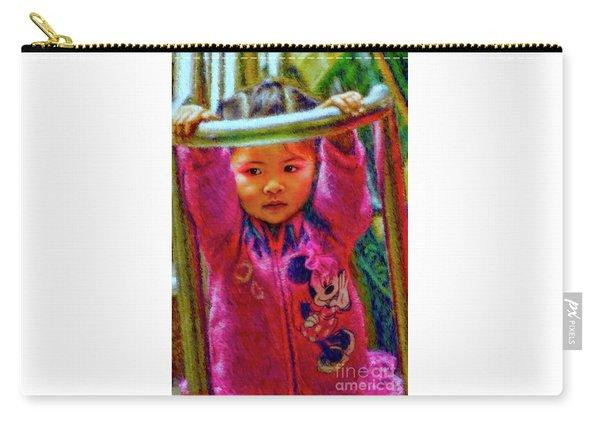 Preschool Girl Monkey Bars Carry-all Pouch