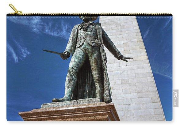 Prescott Statue On Bunker Hill Carry-all Pouch
