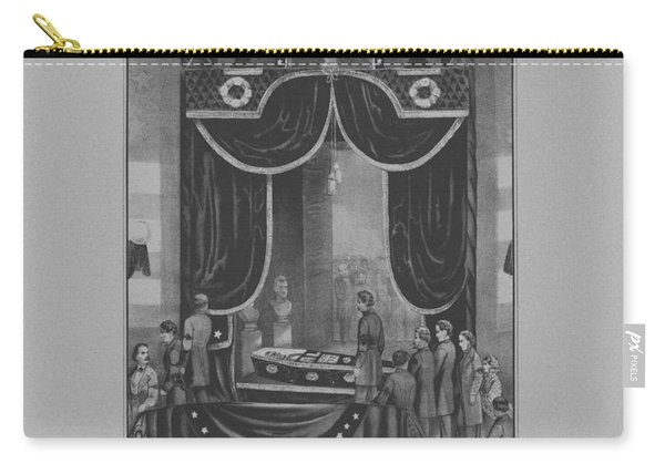 President Abraham Lincoln Lying In State Carry-all Pouch