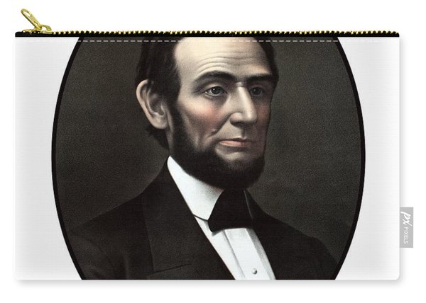 President Abraham Lincoln  Carry-all Pouch