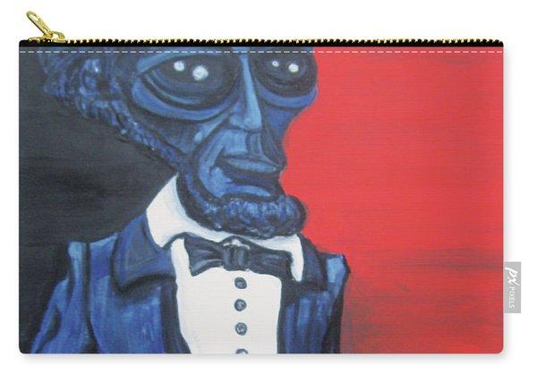 President Alienham Lincoln Carry-all Pouch