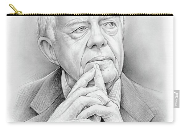 President Carter Carry-all Pouch