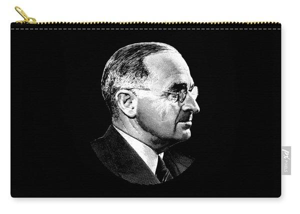 President Harry Truman Profile Portrait Carry-all Pouch