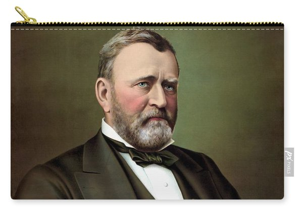 President Ulysses S Grant Portrait Carry-all Pouch