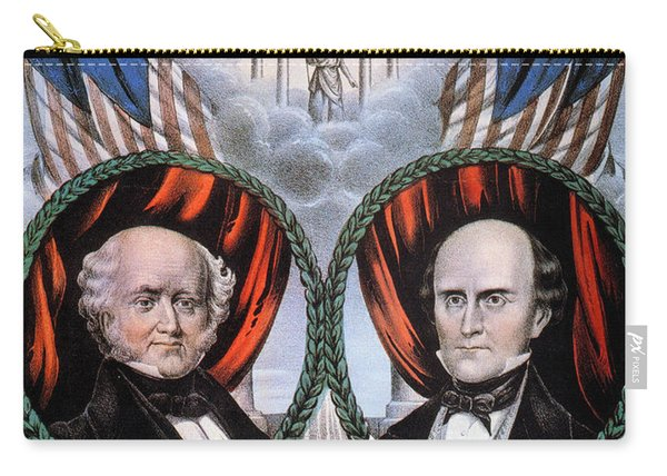 Presidential Campaign, 1848 Carry-all Pouch
