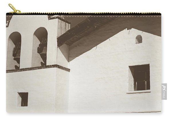 Presidio Chapel- Art By Linda Woods Carry-all Pouch