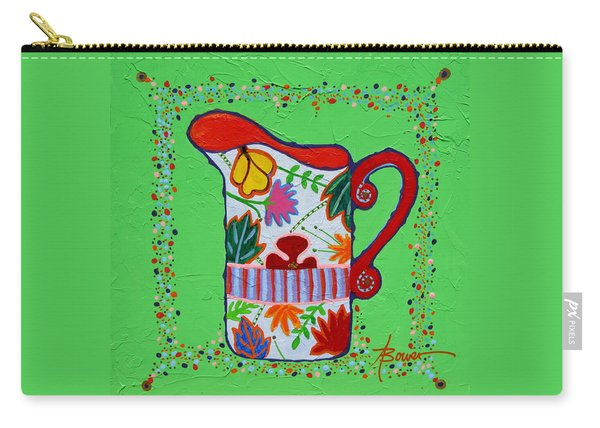 Pretty As A Pitcher Carry-all Pouch