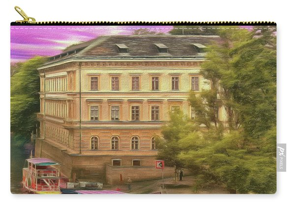 Pretty On The River - Prague Carry-all Pouch