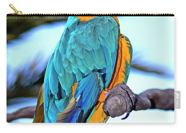 Pretty Parrot Carry-all Pouch
