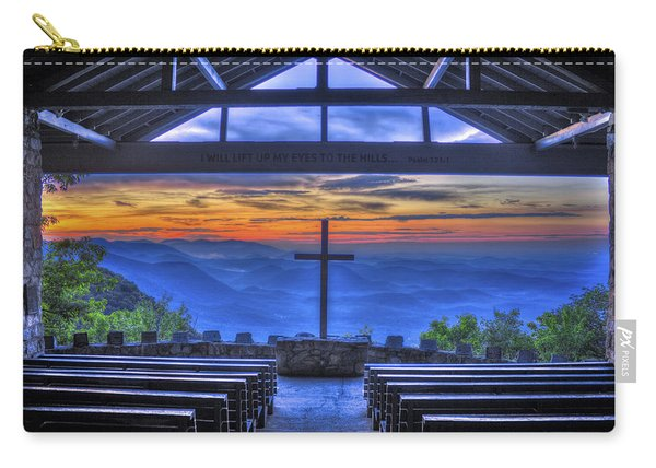 Pretty Place Chapel Sunrise 777  Carry-all Pouch
